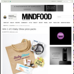 Win 1 of 3 Baby Show Prize Packs from Mindfood
