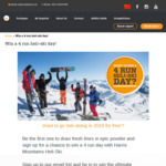 Win a 4 Run Heli-Ski Day from Harris Mountains Heli-Ski
