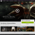 [PC] The Witcher Enhanced Editon FREE @ Gog