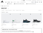 40% off 1000 Products at adidas