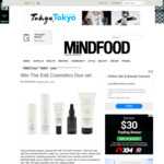 Win The Edit Cosmetics Duo Set (Worth $240) from Mindfood