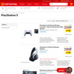 PlayStation 5 DualSense Wireless Controller - Midnight Black ($104.69) Cosmic Red ($108.88) @Noel Leeming Normally ($129.00)