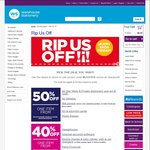 Warehouse Stationery Rip Us off Sale: 20% off Mobiles