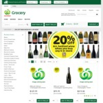 20% off All Bottled Wine When You Buy 6 Bottles or More at Countdown