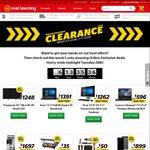 Online Clearance On Now - Panasonic 55' Ultra HD 4K Smart LED $1248, Huawei P9 Plus $899 Save $200 + More @ Noel Leeming