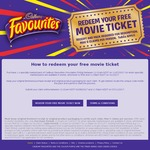 Buy Cadbury Favourites 540g and Redeem a Free Movie Ticket
