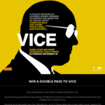 Win a Double Pass to The Comedy-Drama Film VICE from Auckland Museum