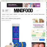 Win 1 of 5 1above Prize Packs from Mindfood