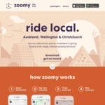 50% off Zoomy Rides in Christchurch