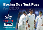 $11.99 for Five Days of Access to Sky Sport Now Incl. Boxing Day Test Match @ Grabone