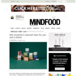 Win 2 Sets of a Year's Ecostore Haircare Bars (Worth $550) from Mindfood