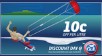 10c/Litre off Fuel @ Gull (22/10 7am - 23/10 12pm)