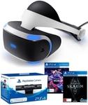 PlayStation VR, V2 Camera, VR Worlds & Skyrim VR $438 @ Mighty Ape