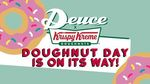 Free Krispy Kreme Doughnut @ Deuce Newmarket