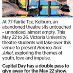 Win a Double Pass to Romeo And Juliet from The Dominion Post (Wellington)