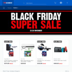 EB Games Black Friday Sale - PS4 1TB + GOW + Spiderman $449, XB1 X bundles $629, Xbox One S 1TB + FH4 + Fortnite $339