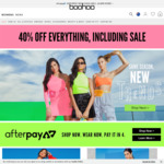55% off Everything @ Boohoo