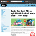 Win Various Prizes in the Mighty Ape Easter Egg Hunt 2019