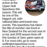 Win 1 of 5 Family Passes to Upper Hutt Speedway from The Dominion Post (Wellington)
