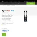 Dyson AM09 Fan + Heater for $349 (Normal RRP $699) @ Dyson