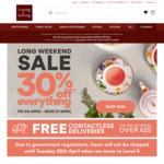 30% off Sitewide @ Living and Giving