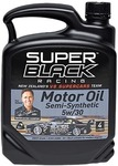 Super Black Racing Engine Oil Semi-Synthetic 5W-30 4L $19 @ The Warehouse