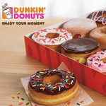 Dunkin Donuts on Treat Me $14 for 12 Donuts from Dunkin' Donuts, 15 Locations (Value $20.80)
