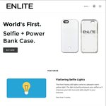 Boxing Day Sale: iPhone Selfie Case with a Built in Power Bank $29 (Save 50%) + Free Shipping @ Enlite