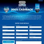 Schick Hydro Love It or 200% Cashback