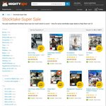 MightyApe Stocktake Sale - 15,000+ Games, Books, DVDs & More up to 80% off