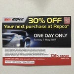 One Day 30% Discount on REPCO with Voucher
