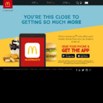 Big Mac $3, Any Size McCafé Coffee $3, 2 Favourites Burgers & Small Fries $10 + More @ McDonald's via. App