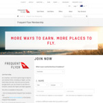 Free Join Qantas Frequent Flyer Membership @ Qantas