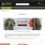 Win an MA-1 Flight Jacket Worth $154 from Army and Outdoors