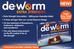 Win 1 of 10 Family Packs of New Deworm Extra Strength Chewables 6's from Kidspot