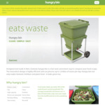 Hungry Bin Composter $230 (was $325 / Save $95) @ HungryBin