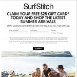 Surfstich $25AU Free Gift Card ($50AU Min Spend)