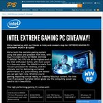 Win an Intel Extreme Gaming PC Worth $10,000 from PB Tech