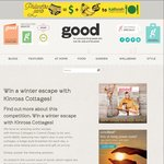 Win a 2 Nt Stay at Kinross Cottages in Central Otago, Breakfast, Wine Tasting from Good Mag