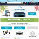 Use Amazon Echo to Order from Amazon in The Next Two Days and Get USD $10 Discount