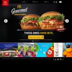 Free Fries and Drink with Any Gourmet Creations Burger via app @ Mcdonalds