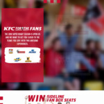 Win 2 Sideline Fan Box Seats OR Hang out with One of Your Favourite Super Rugby Players [Requires Purchase] from KFC