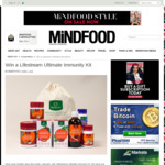 Win a Lifestream Ultimate Immunity Kit from Mindfood