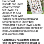 Win a Common Household Biscuits and Slices of New Zealand Tea Towel and One Poster from The Dominion Post (Wellington)