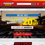 20% off Sitewide @ Supercheap Auto