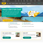 $50 Z Gift Card with AMI Comprehensive Car Insurance Policy