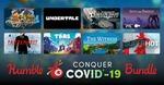 [PC] Humble Conquer Covid-19 Bundle $52 @ Humble