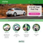 Cityhop $10 off Your Next Trip