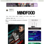 Win 1 of 10 Double Passes to Honest Thief from Mindfood