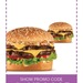 2 California Classic Burgers for $5 @Carl's Jr
